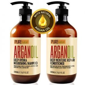 Moroccan Argan Oil Shampoo and Conditioner SLS Sulfate