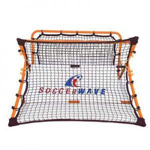 Patented,Trademarked SoccerWave Jr. 2 in 1 Soccer Rebounder net