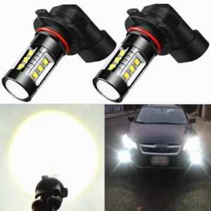 Alla Lighting Extreme Super Bright H10 9145 LED Bulb Fog Light High Power 80W Cree 12V LED