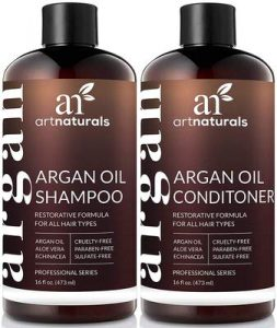 Art Naturals Organic Moroccan Argan Oil Shampoo and Conditioner Set