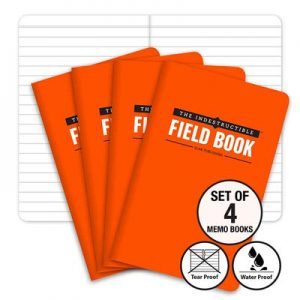The Indestructible, Waterproof, Tearproof, Weatherproof Field Notebook