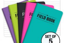 Field Notebook - 3.5x5.5 - Assorted Colors