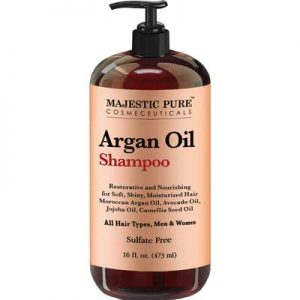 Argan Oil Shampoo by Majestic Pure