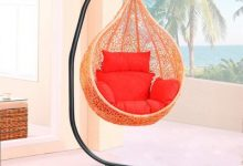 13. Yaheetech Hammock C Stand Solid Steel Construction Hammock Air Porch Swing Chair Stand Hammock Chair Swing