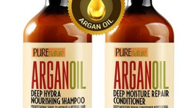 4. Moroccan Argan Oil Shampoo and Conditioner SLS Sulfate