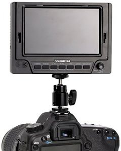 MustHD M501 On-Camera Field Monitor