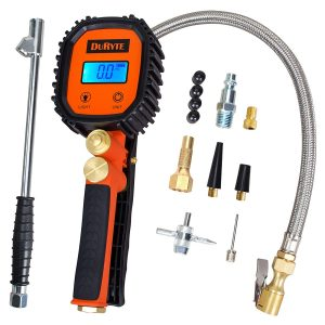 Perizons Digital Tire Inflator with 250 PSI Gauge