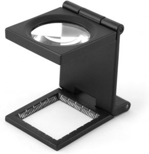 Yosoo 10X 28mm Mini Three-Folding 10X Magnifier