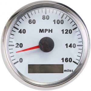 ELING Waterproof MPH Speedo GPS Speedometer Gauge