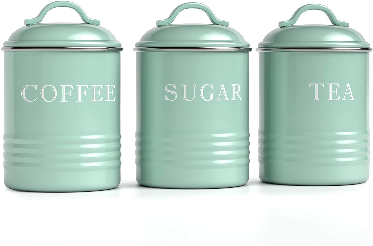 Barnyard Designs Airtight Kitchen Canister Decorations with Lids
