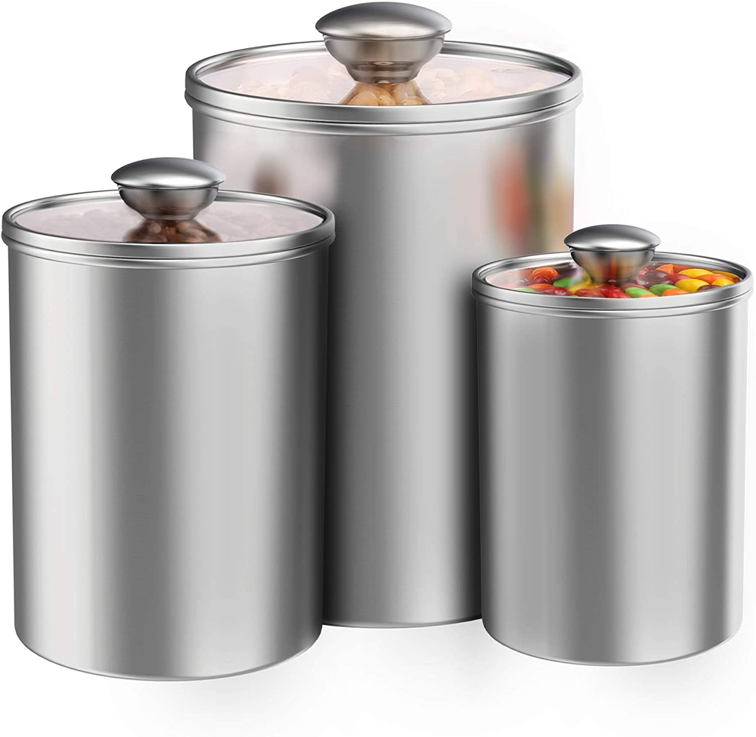 Airtight Canisters Sets for the Kitchen Counter