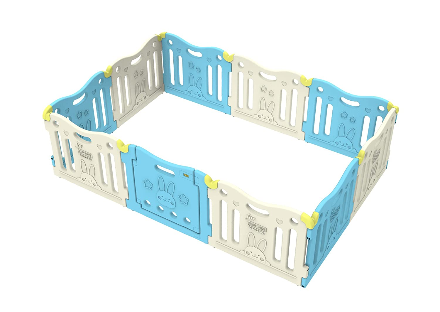 Baby Care Funzone Playpen (SkyBlue)